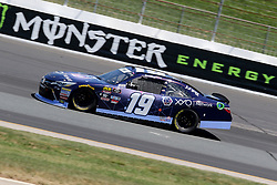 July 20, 2018 - Loudon, NH, U.S. - LOUDON, NH - JULY 20: Brandon Jones, driver of the #19 XYO Networks Toyota during practice for the Lakes Region 200 Xfinity Series race on July 20, 2018, at New Hampshire Motor Speedway in Loudon, NH. (Photo by Malcolm Hope/Icon Sportswire) (Credit Image: © Malcolm Hope/Icon SMI via ZUMA Press)