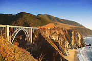 Bixby Creek Bridge in Big Sur California