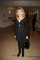 AMANDA ROSS at the annual Orion Publishing Group's Author party held in the Paul Hamlyn Hall, The Royal Opera House, Covent Garden, London on 22nd February 2010.