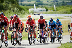 Kasia Niewiadoma (POL) at Stage 2 of 2019 OVO Women's Tour, a 62.5 km road race starting and finishing in the Kent Cyclopark in Gravesend, United Kingdom on June 11, 2019. Photo by Sean Robinson/velofocus.com
