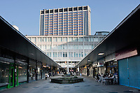 St George's Walk Shopping Centre in Croydon Surrey during January 2009