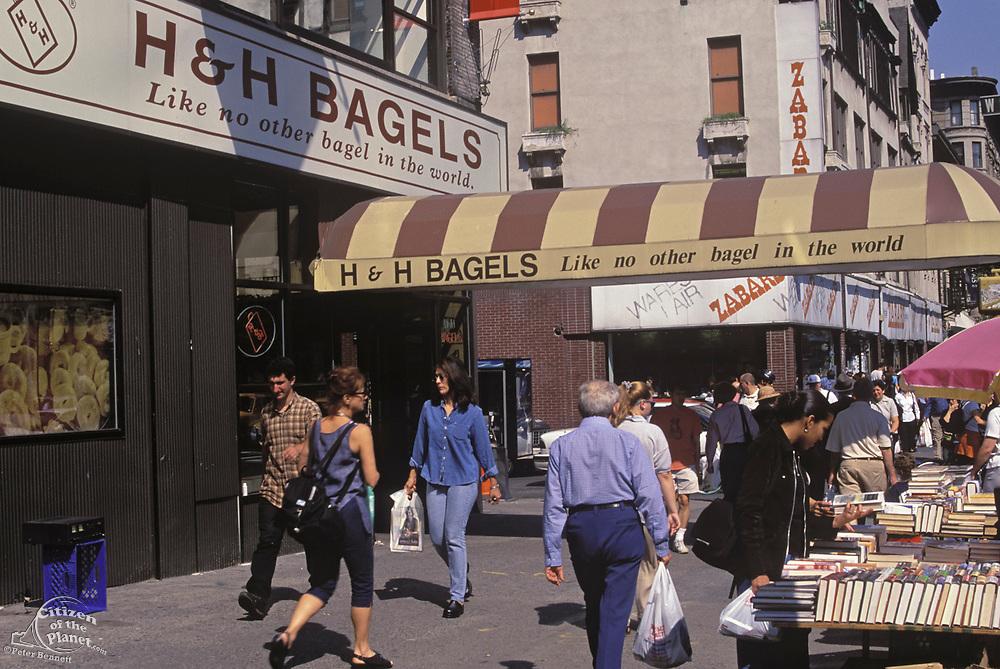 H & H Bagels closed in 2012, Broadway, Manhattan, New York