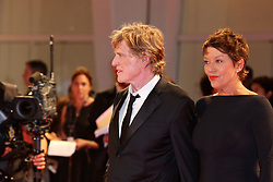Jane Fonda and Robert Redford walk the red carpet ahead of the 'Our Souls At Night' screening during the 74th Venice Film Festival at Sala Grande. 01 Sep 2017 Pictured: Robert Redford. Photo credit: MEGA TheMegaAgency.com +1 888 505 6342