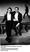 Trinity College May Ball. Cambridge. 15 June 1981. film 8132f27<br />© Copyright Photograph by Dafydd Jones<br />66 Stockwell Park Rd. London SW9 0DA<br />Tel 0171 733 0108