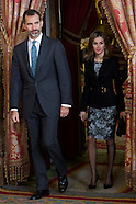 121914 Spanish Royals meeting with Board of Principe de Girona Foundation