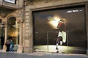 Nike advert, Barcelona, Catlaunya, Spain