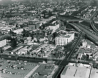 1969 Looking at Sunset Blvd. & Van Ness Ave.