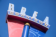 Brea Downtown Signage