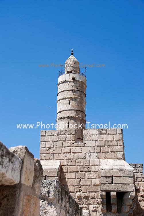 "Israel, Jerusalem, old city ""Tower of David"""