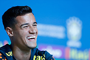 FOOTBALL - 2018 FIFA WORLD CUP RUSSIA - BRAZIL TEAM TRAINING AND PRESS CONFERENCE 190618