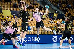 Matic Groselj  of RK Celje Pivovarna Lasko during handball match between RK Celje Pivovarna Lasko (SLO) and THW Kiel (GER) in Group Phase B of EHF Champions League 2020/21, on 1 October, 2020 in Arena Zlatorog, Celje, Slovenia. Photo by Grega Valancic / Sportida