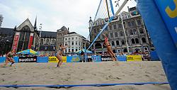 06-06-2010 VOLLEYBAL: JIBA GRAND SLAM BEACHVOLLEYBAL: AMSTERDAM<br /> In een koninklijke ambiance streden de nationale top, zowel de dames als de heren, om de eerste Grand Slam titel van het seizoen bij de Jiba Eredivisie Beach Volleyball - Elke Schuil Wijnhoven en Mered de Vries, inge Boersma en Charlotte Hermans<br /> ©2010-WWW.FOTOHOOGENDOORN.NL