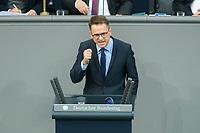 08 DEC 2020, BERLIN/GERMANY:<br /> Dr, Carsten Linnemann, MdB, CDU, Haushaltsdebatte, Plenum, Reichstagsgebaeude, Deuscher Bundestag<br /> IMAGE: 20201208-02-118