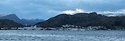 High resolution panorama of Fosnavåg, Norway   Høyoppløslig panorama av Fosnavåg