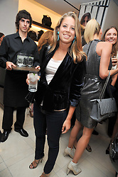LYDIA FORTE at a reception hosted by Vogue and Burberry to celebrate the launch of Fashions Night Out - held at Burberry, 21-23 Bond Street, London on 10th September 2009.