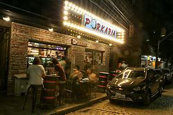 Régis Scalari, Sócio-proprietário do Porkaria Bar, localizado no centro de Porto Alegre. FOTO: Marcos Nagelstein/ Agência Preview
