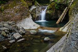 Upper Racehorse Falls, Mt. Baker-Snoqualmie National Forest, Washington, US