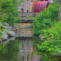 New England photography of spring colors at the Wayside Inn Grist Mill in the Wayside Inn Historic District of Sudbury, Massachusetts.<br /> <br /> Wayside Inn Grist Mill photography images are available as museum quality photography prints, canvas prints, acrylic prints, wood prints or metal prints. Fine art prints may be framed and matted to the individual liking and decorating needs:<br /> <br /> https://juergen-roth.pixels.com/featured/1-spring-at-the-sudbury-grist-mill-juergen-roth.html<br /> <br /> Good light and happy photo making!<br /> <br /> My best,<br /> <br /> Juergen