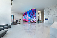 Interior Design image of Central Place Office Building in Rosslyn Virginia by Jeffrey Sauers of Commercial Photographics, DC Architectural Photographer