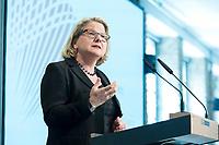 09 MAY 2019, BERLIN/GERMANY:<br /> Svenja Schulze, SPD, Bundesumweltministerin, haelt eine Rede, Wirtschaftskonferenz des Wirtschaftsforums der SPD, Kalkscheune<br /> IMAGE: 20190509-01-053