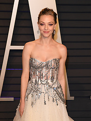 Amanda Seyfried attending the 2019 Vanity Fair Oscar Party hosted by editor Radhika Jones held at the Wallis Annenberg Center for the Performing Arts on February 24, 2019 in Los Angeles, CA, USA. Photo by David Niviere/ABACAPRESS.COM