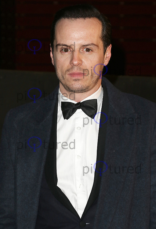 Andrew Scott, Bright Young Things Gala, National Theatre, London UK, 02 March 2016, Photo by Brett D. Cove