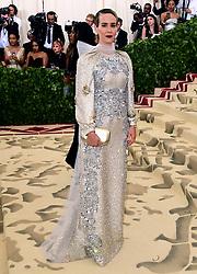 Sarah Paulson attending the Metropolitan Museum of Art Costume Institute Benefit Gala 2018 in New York, USA.