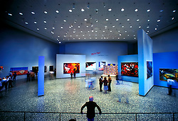 Stock photo of an art exhibit at the Museum of Fine Arts in Houston Texas