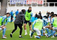 Football - 2020 / 2021 Premier League - Newcastle United vs Manchester City - St James' Park<br /> <br /> Kyle Walker of Manchester City during the warm up<br /> <br /> Credit : COLORSPORT/BRUCE WHITE