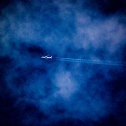 Aircraft over Falkirk, 22/01/2021