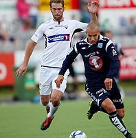 Fotball <br /> Adeccoligaen<br /> Elverum Stadion<br /> 04.08.13<br /> Elverum  v  Kristiansund 2-3<br /> Foto: Dagfinn Limoseth, Digitalsport<br /> Mahmoud El Haj  , Kristiansund