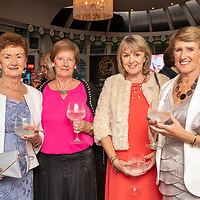 REPRO FREE<br /> Pictured at the opening of the 43rd Kinsale Gourmet Festival at the Blue Haven were Phil Price and Joan Collins from Kinsale with Bridget Coleman, Belgooly and Christine Mitchell, Riverstick. <br /> Picture. John Allen