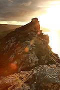Valley of the Rocks, near Lynton, at Sunset