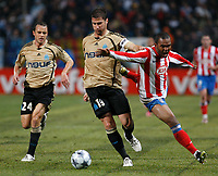 Fotball<br /> Frankrike<br /> Foto: DPPI/Digitalsport<br /> NORWAY ONLY<br /> <br /> FOOTBALL - CHAMPIONS LEAGUE 2008/2009 - GROUP STAGE - GROUP D - 09/12/2008 - OLYMPIQUE MARSEILLE v ATLETICO MADRID - LORIK CANA (OM) / FLORENT SINAMA PONGOLLE (ATL)
