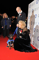 TRH PRINCE & PRINCESS MICHAEL OF KENT at the annual Collars & Coats Gala Ball in aid of Battersea Dogs & Cats Home held at Battersea Evolution, Battersea Park, London on 11th November 2011.