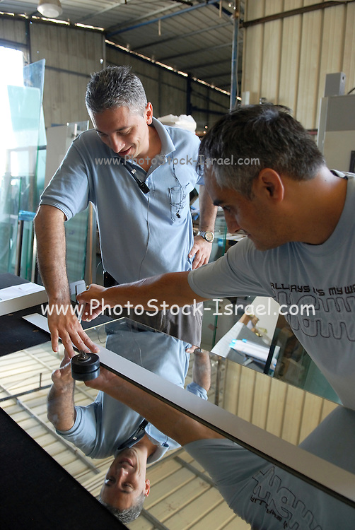 Traditional Carpenters at work in his workshop