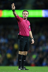 1st March 2017 - FA Cup - 5th Round (Replay) - Manchester City v Huddersfield Town - Referee Paul Tierney - Photo: Simon Stacpoole / Offside.
