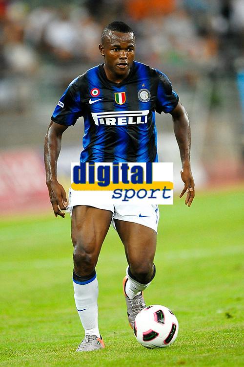 Victor OBINNA Inter <br /> Bari 13/8/2010 Stadio San Nicola<br /> Trofeo Tim - Inter Juventus<br /> Foto Andrea Staccioli Insidefoto
