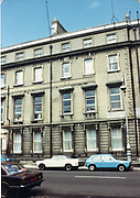 Old amateur photos of Dublin streets churches, cars, lanes, roads, shops schools, hospitals, VW Golf, Ford cortina Custom House, Gate Theather, Protestant Church, Temple St Hospital, St Georges Church, Abbey St, GPO July 1986 July 1986