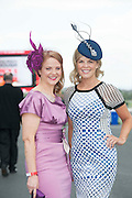 29/07/2014 Senator Caitriona Ni Nuain  and Marietta Doran  at the Tuesday evening meeting of the Galway Summer racing Festival. Photo: Andrew Downes