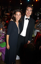 LORD & LADY FRANCIS RUSSELL at the party Belle Epoque hosted by The Royal Parks Foundation and Champagne Perrier Jouet held at the Lido Lawns of the Serpentine, Hyde Park, London on 14th September 2006.<br /><br />NON EXCLUSIVE - WORLD RIGHTS