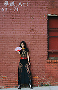 Fashion and beauty photography in New York, geisha inspired fashion photo story