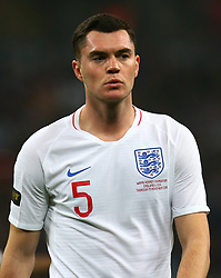 November 15, 2018 - London, United Kingdom - England's Michael Keane.during the friendly soccer match between England and USA at the Wembley Stadium in London, England, on 15 November 2018. (Credit Image: © Action Foto Sport/NurPhoto via ZUMA Press)
