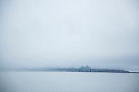 View of the Megler Bridge. Astoria, Oregon.