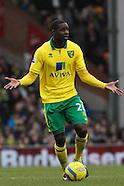Norwich City v Luton Town 260113