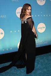 Alyssa Milano at the UNICEF USA's 14th Annual Snowflake Ball in New York City.