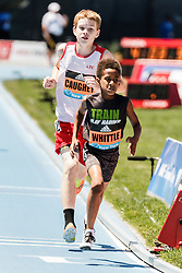 adidas Grand Prix Diamond League Track & Field: youth boys mile, Amiri Whittle, Patrick Caughey