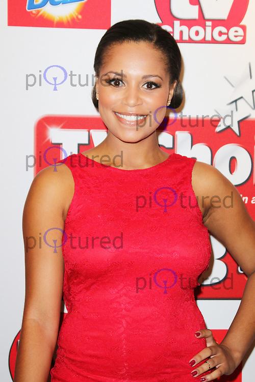 Tisha Merry, TV Choice Awards, The Dorchester Hotel, London UK, 09 September 2013, Photo by Richard Goldschmidt