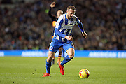 Brighton & Hove Albion centre forward Glenn Murray (17) during the EFL Sky Bet Championship match between Brighton and Hove Albion and Newcastle United at the American Express Community Stadium, Brighton and Hove, England on 28 February 2017.