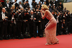 59680469  .Petra Nemcova  poses for photos as she arrives for the screening of the American film All Is Lost presented out of Competition at the 66th edition of the Cannes Film Festival in Cannes, southern France, May 22, 2013. Photo by: imago / i-Images. UK ONLY